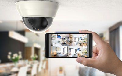 Enregistrer avec une caméra de vidéosurveillance.